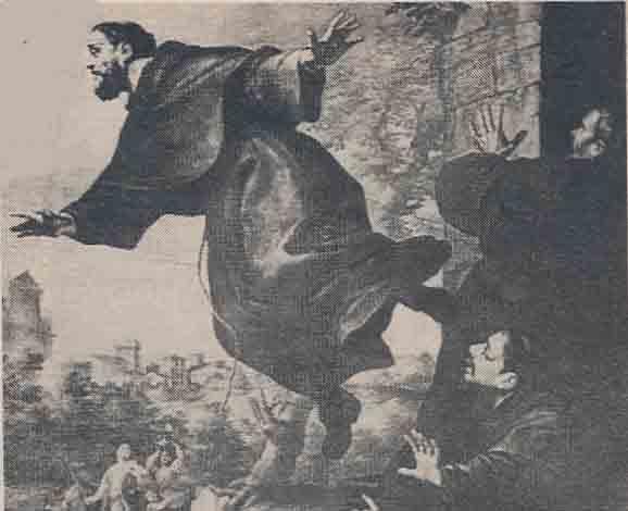 St. Joseph Levitating